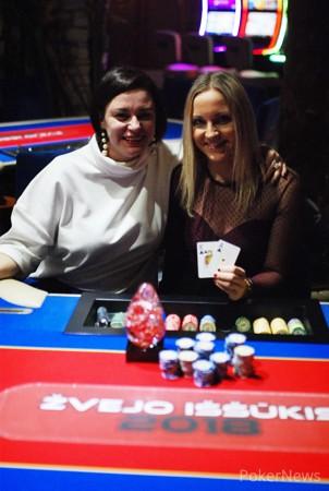 Svajūnė Vadopalaitė (dešinėje) ir Laura Tomkevičienė