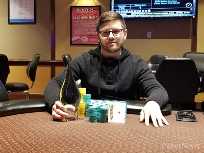 Event #1 Champion Chris Gras