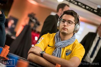 Juan Pardo Dominquez leads last eight in second €25,000 Super High Roller