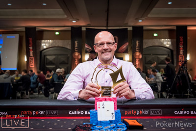 Andreas Eiler wins first €25,500 Super High Roller