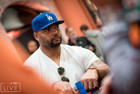Richard Seymour in action at the partypoker LIVE MILLIONS Grand Final Barcelona