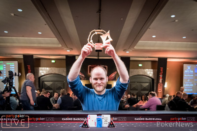 Sam Greenwood wins the €51,000 Super High Roller