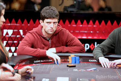 Keith Tilston bubbled the €101,000 Super High Roller