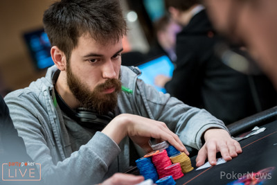 Dominik Nitsche is second in Chips