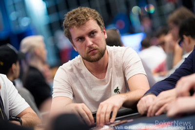 Ryan Riess Bubbles the €25,000 High Roller
