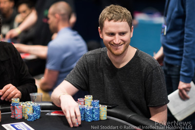 David Peters at the top of the counts after Day 2