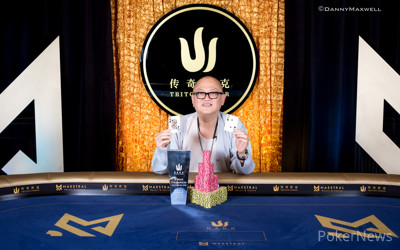 Richard Yong - 2018 Triton Super High Roller Series Montenegro HKD250,000 6-Max Event Winner