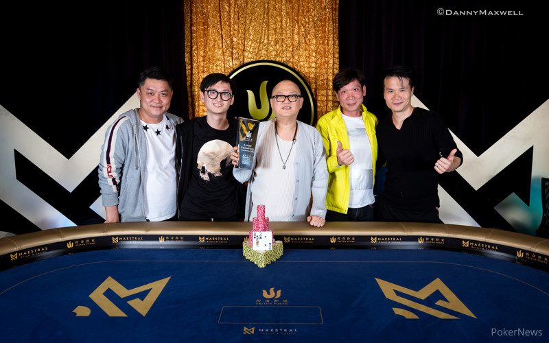 Richard Yong - 2018 Triton Super High Roller Series Montenegro