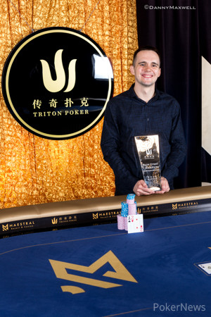 Mikita Badziakouski - 2018 Triton Super High Roller Series MontenegroHKD $1,000,000 Main Event Winner