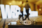 A gold WSOP bracelet just like this one is up for grabs