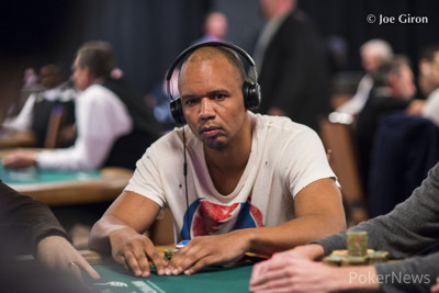Phil Ivey, pictured in an earlier event.