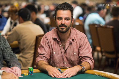Max Steinberg (photo from earlier this WSOP)