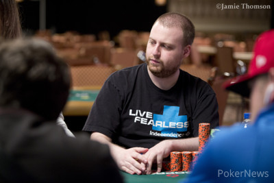 2015 WSOP Main Event winner Joe McKeehen made it to Day 4