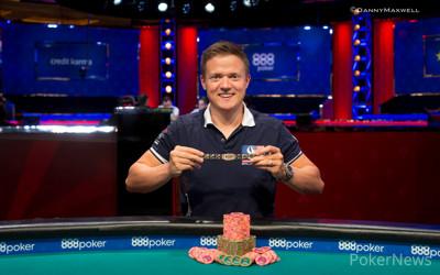 Ben Dobson - 2018 $1,500 Seven Card Stud Hi-Lo 8 or Better Winner