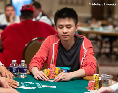 Ben Yu is the chipleader after Day 1