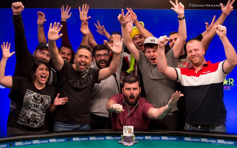 Timur Margolin - 2018 $2,500 No-Limit Hold'em Winner