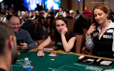Liv Boeree in a previous event