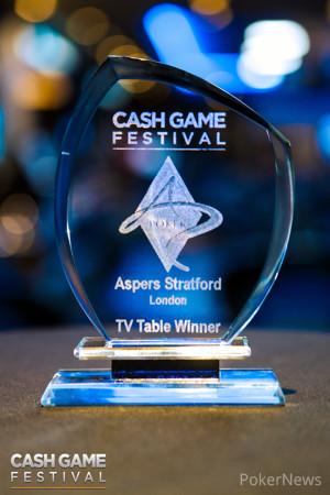 Cash Game Festival London Trophy