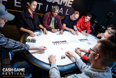 Cash Game Festival London Feature Table