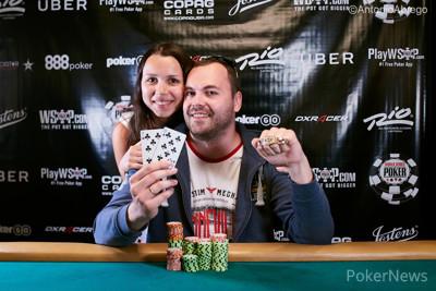 Winner of Event #73: $1,000 Double Stack Turbo Denis Timofeev