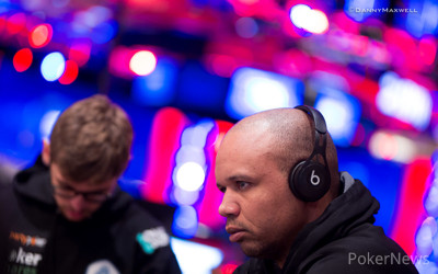 Phil Ivey second in chips after Day 1
