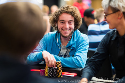 Anthony Chimkovitch is the overall Day 1 chipleader