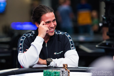 Day 4 chip leader Pedro Marques