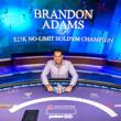 Poker Masters Event #2 Champion Brandon Adams