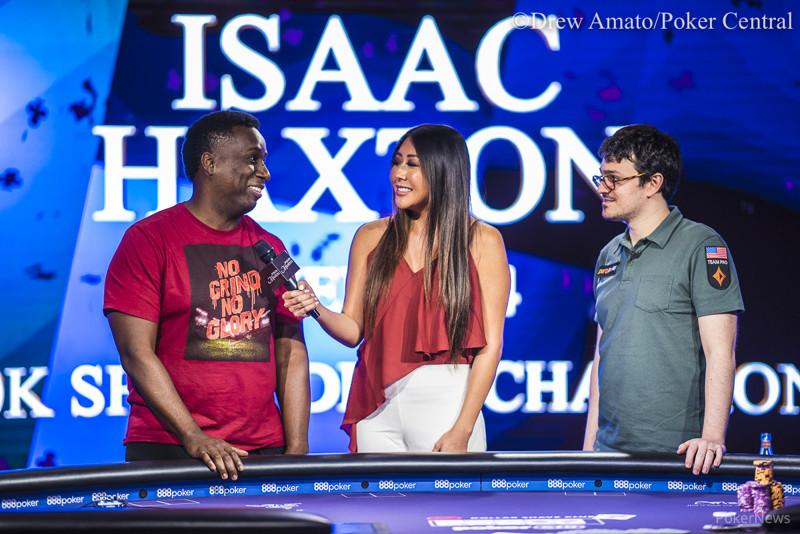 Maurice Hawkins, Maria Ho, & Isaac Haxton