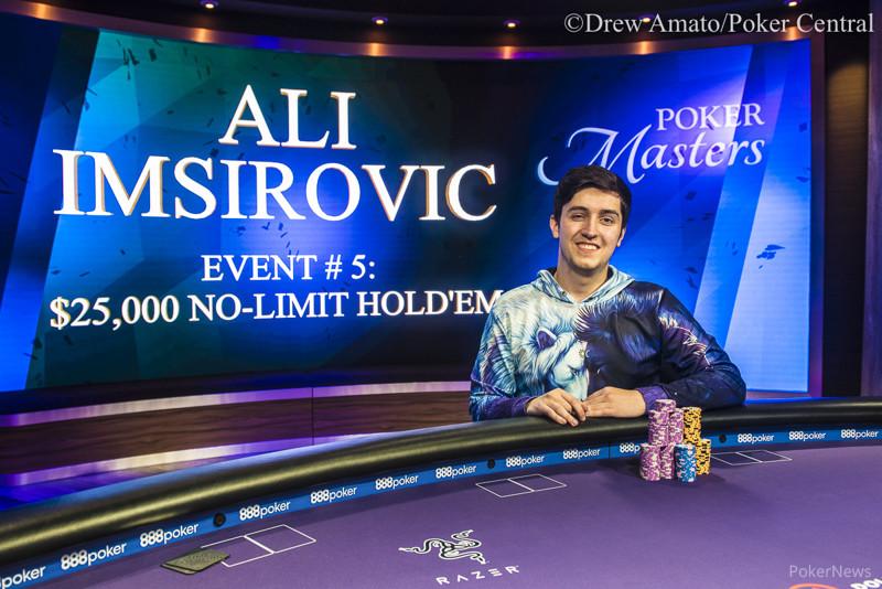 Ali Imsirovic Wins the $25k NLH Event