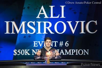 Ali Imsirovic Wins Event 6 $50K NLH