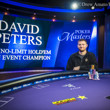 David Peters Wins $100k Main Event