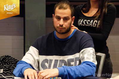 Milad Oghabian leads 39 players into Day 2