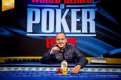 Tamir Segal - 2018 WSOPE COLOSSUS Champion