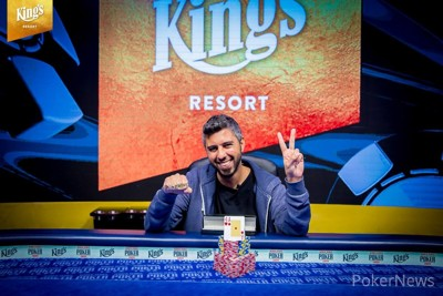 Asi Moshe - Winner of Event #2: €1,650 No-Limit Hold'em 6-Handed Deepstack