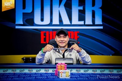 Hanh Tran - Winner of Event #3: €550 Pot-Limit Omaha 8-Handed
