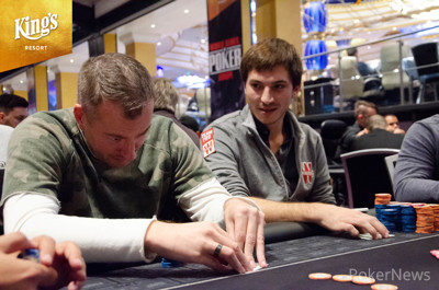 Sergei Popov and Guillaume Diaz