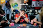 Hanh Tran joint chipleader for the final table