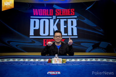 Anson Tsang Adds Another WSOP Victory
