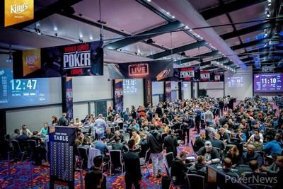 Poker Tournament Room