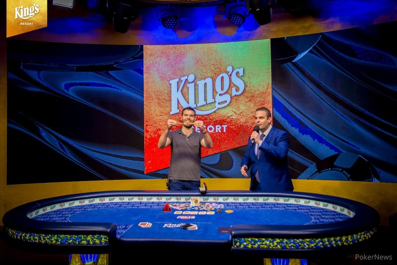 Jack Sinclair wins 2018 WSOPE Main Evennt