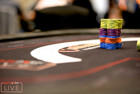 Chips and cards a partypoker CPP 2018 Main Event