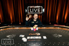 Roberto Romanello Captures $10,300 High Roller Title for $450,000