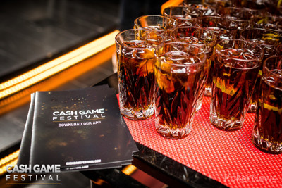 Cash Game Festival Welcome Drinks
