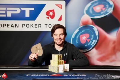€25,000 High Roller Champion Corentin Ropert