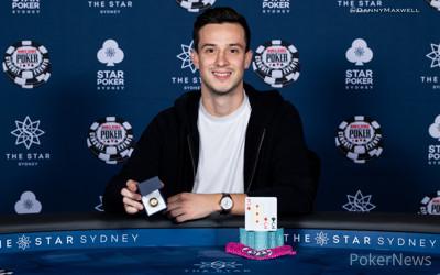 Alex Lynskey - 2018 WSOP International Circuit The Star Sydney$2,200 Main Event Winner