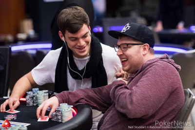 Paul Michaelis (L) and Parker Talbot