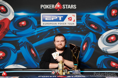 EPT Prague €10,300 High Roller Champion Henrik Hecklen