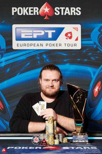 €10,300 High Roller Champion Henrik Hecklen