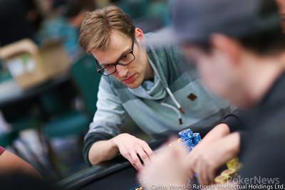 Christoph Vogelsang rising on Day 3
